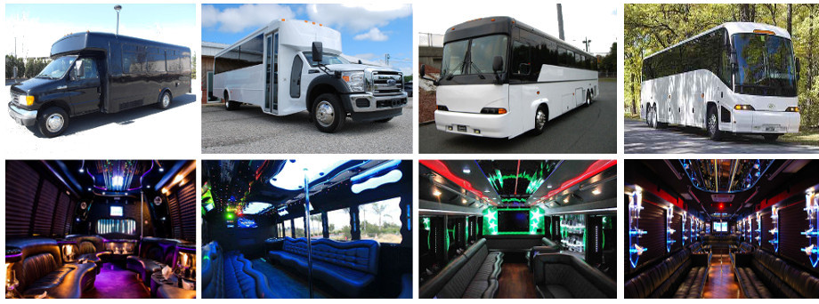 bachelor party bus rentals