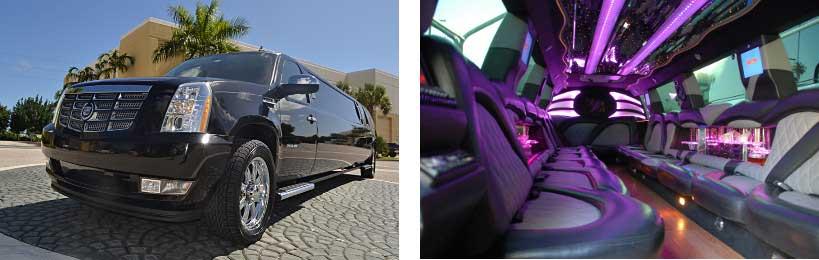 escalade limo service Hoover