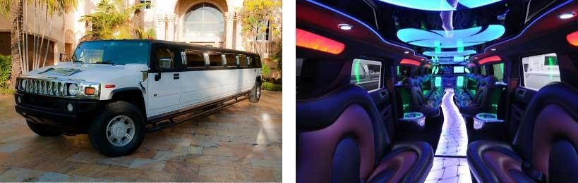 hummer limo service Homewood
