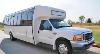 20 passenger shuttle bus rental Madison