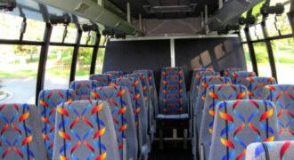 20 person mini bus rental Madison