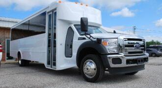 30 passenger bus rental Madison