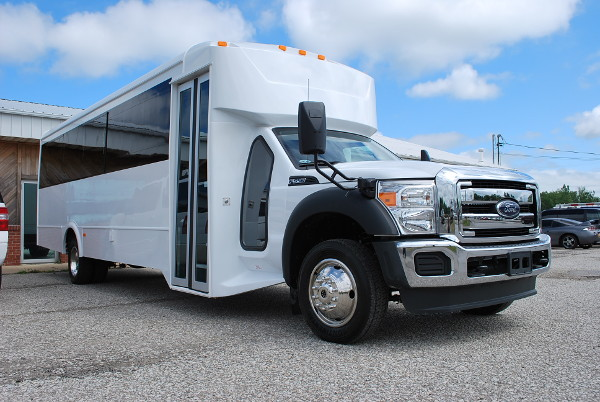 30 passenger bus rental Madison