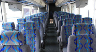 30 person shuttle bus rental Madison