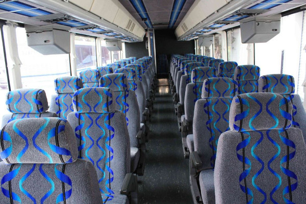 30 person shuttle bus rental Madison