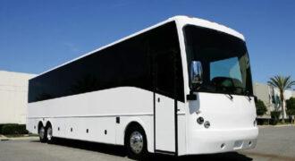40 passenger charter bus rental Madison