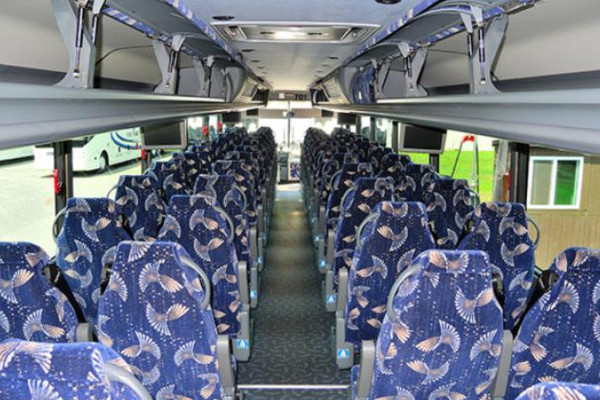 40 person charter bus Hoover