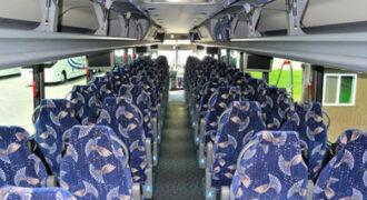 40 person charter bus Huntsville