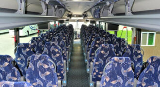 40 person charter bus Madison