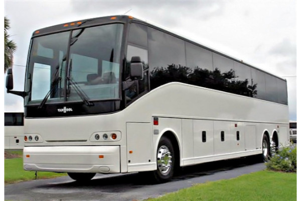 50 passenger charter bus Enterprise