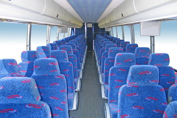 50 person charter bus rental Madison